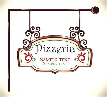 restaurante italiano: pizzeria signo