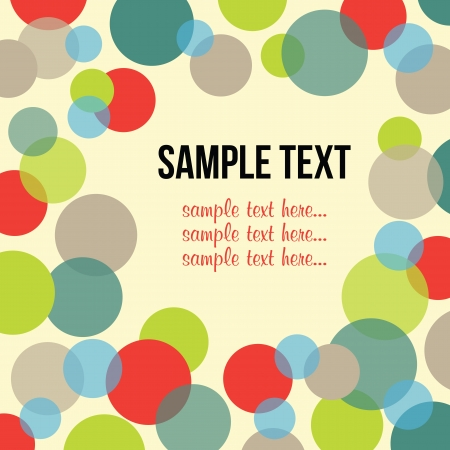 dot design frame Vector