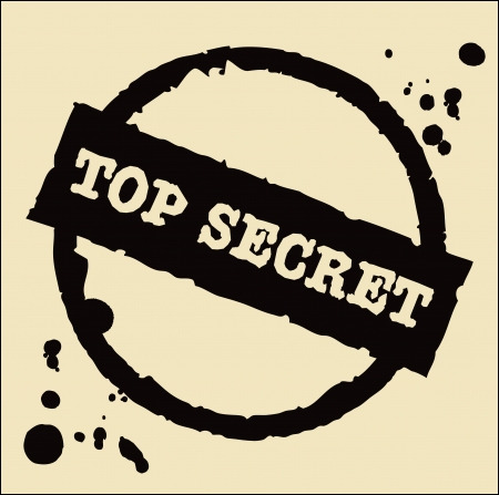 strictly: Top secret  stamp