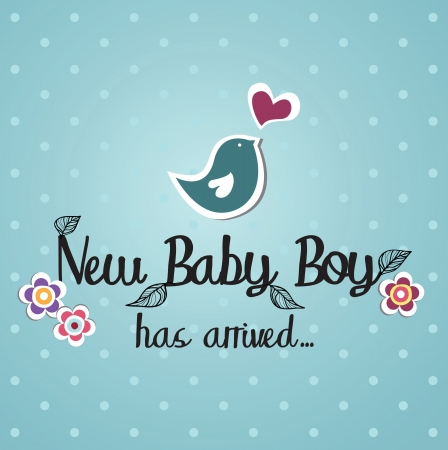 baby: baby card design  illustration Illustration