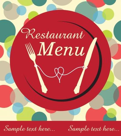 restaurant menu design Stock Vector - 20154756