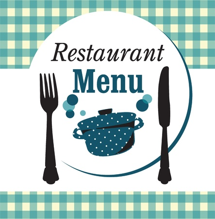restaurant menu design Stock Vector - 20154641