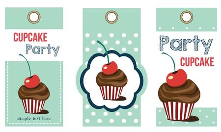 enchanting: cupcake label