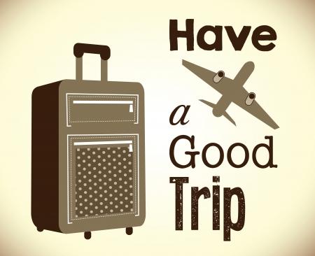 voyage: Bolsas de viaje cartel retro