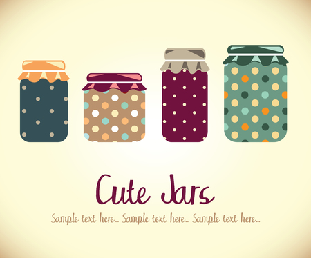 Cute Jars photo