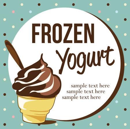 frozen food: Frozen Yogurt