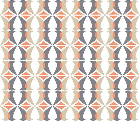 retro curves seamless pattern photo