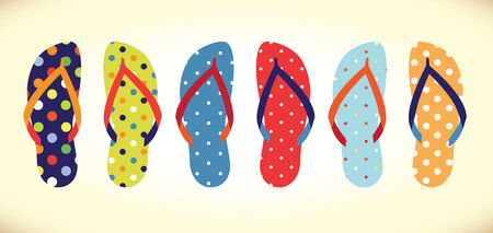 flip flops 版權商用圖片