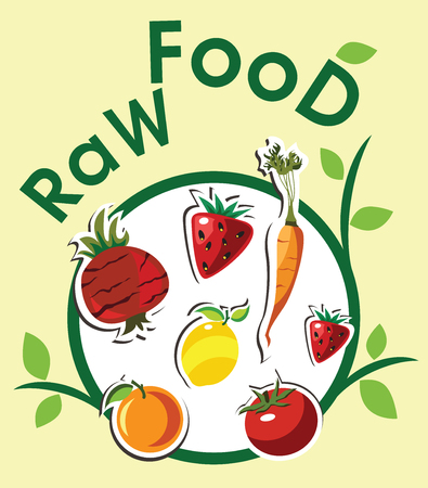 raw food: Raw food menu
