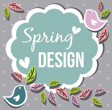 card: spring card