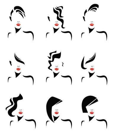 hair setting: women hair styles
