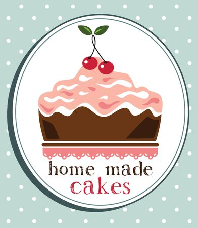 home made: Cake design,home made cake Stock Photo