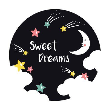 sweet dreams: sweet dreams card design