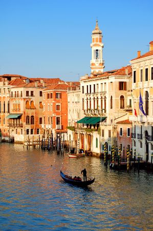 Gondola ride in Venice Stock Photo - 6051072