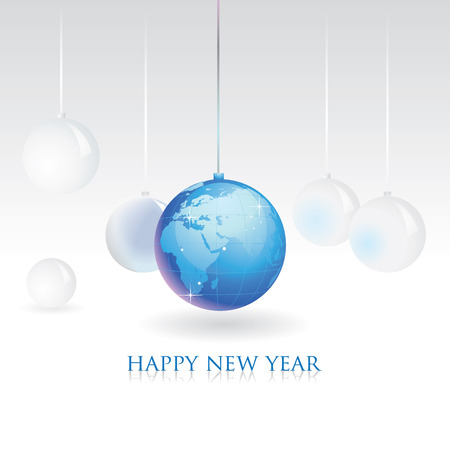2010 new year business greeting card Vector
