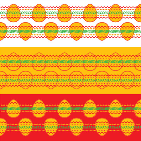 Eggs for Easter holiday celebration Vector