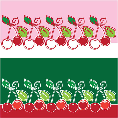 illustration of a cherry Stock Vector - 6367931