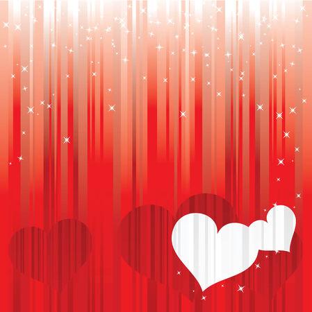 Love background. Valentines day. Vector