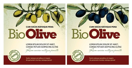 antioxidant: Olive oil labels