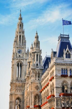 Town hall in Vienna, Austria photo