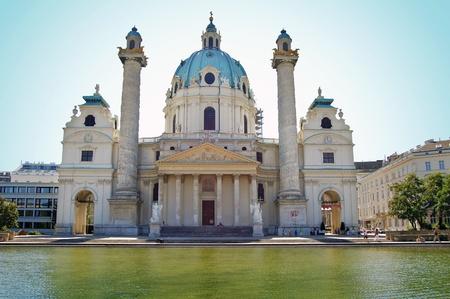 Karlskirche in Vienna, Austria photo