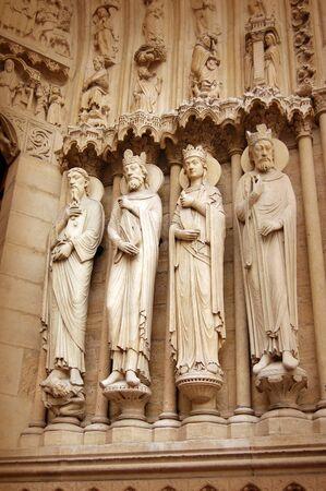Detail of Notre dame de Paris photo