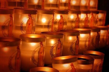 Church candles photo