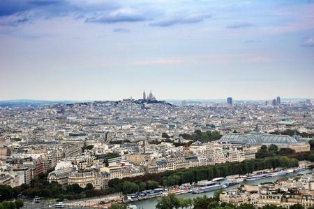 Panoramic view of Paris photo