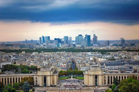 Panorama of Paris photo