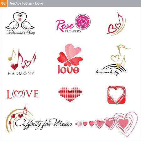 icons: love Vector
