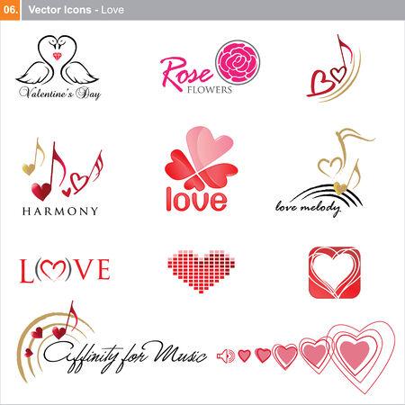 icons: love