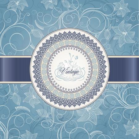 invito compleanno: Wedding scheda modello Vettoriali