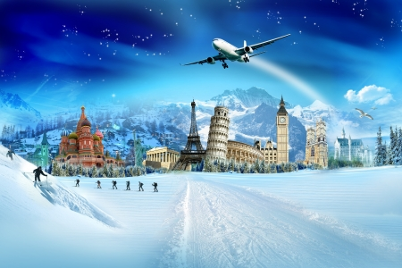 transportation travel: Travel - winter season