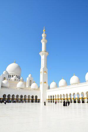 Sheikh Zayed Mosque in Abu Dhabi, UAE  photo