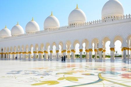 sheikh: Sheikh Zayed Mosque in Abu Dhabi, United Arab Emirates
