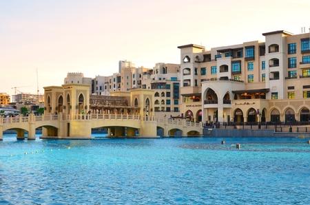 Dubai downtown, UAE  Standard-Bild