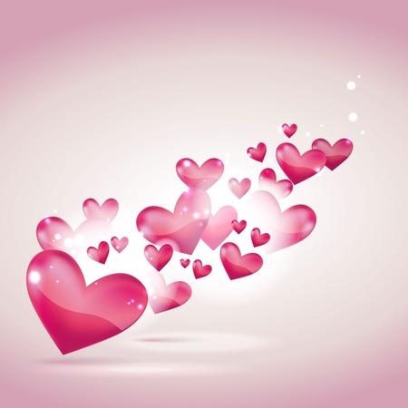 man vrouw symbool: Valentijnsdag of bruiloft kaart en achtergrond
