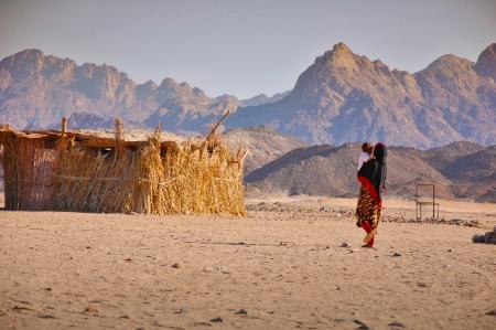 Bedouins in the desert