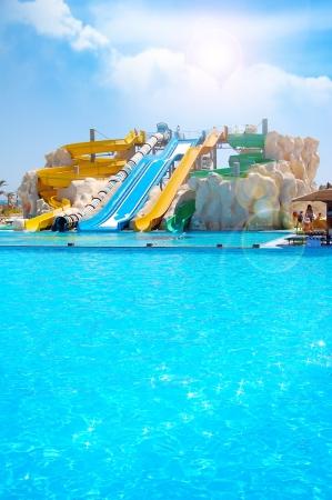 summer fun: Aquapark