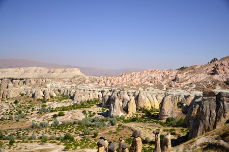 Cappadocia, Turkey Standard-Bild