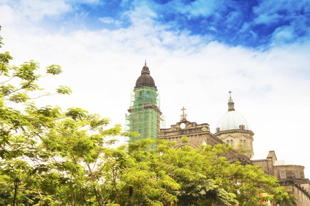 spaniards: The Manila Metropolitan Cathedral-Basilica, informally known as the Manila Cathedral, is a Roman Catholic basilica located at Plaza de Roma in the Intramuros district of Manila, Philippines