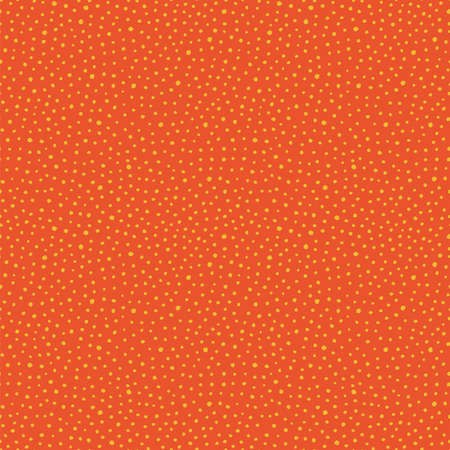 Vector irregular abstract seamless repeat dot pattern, design background texture in wavy motion. Hand drawn doodle design. Perfect simple abtract backgroung texture.