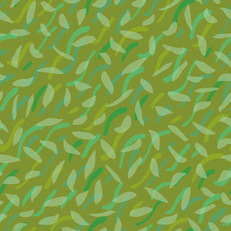 Abstract Lawn Flooring Seamless Vector Repeat Background. Irregular Sprinkled Green Design. Close Up, All Over Repeat. Interior Design, Home Decor, Interiors. Vector EPS 10 Tile.