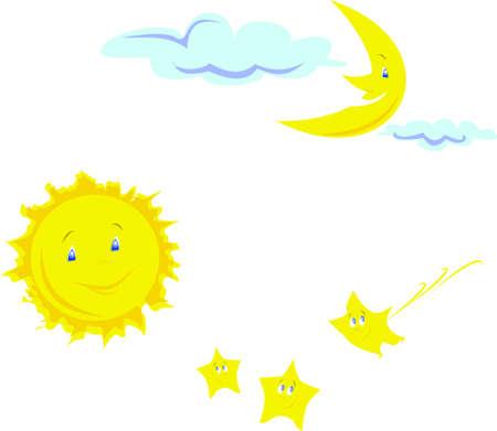 Sky set Illustration