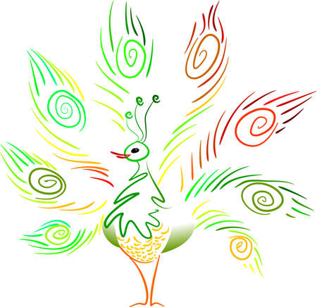 aplomb: Peacock