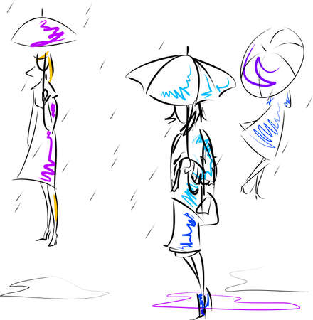 Umbrellas Stock Vector - 5406946