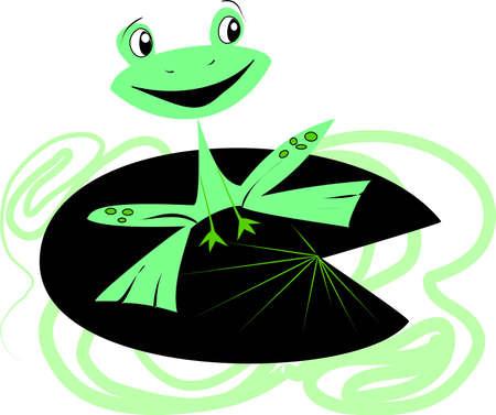 Frog Stock Vector - 6007270