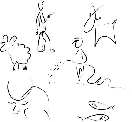 taurus sign: Zodiac set 2