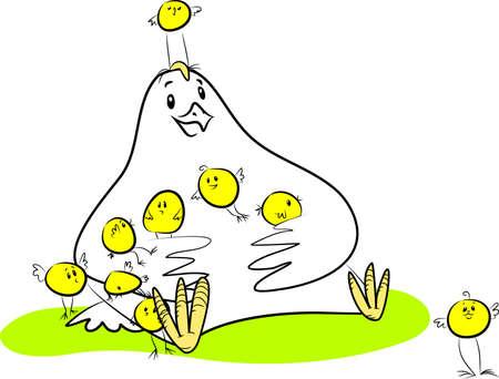 Familie Illustration