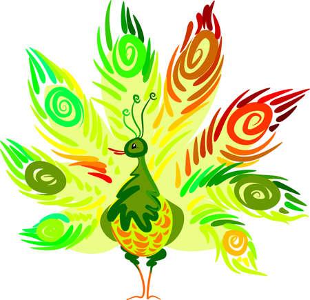 Peacock Stock Vector - 6608086